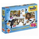 Alexander-4341 3 Puzzles - Pinguine aus Madagascar