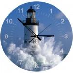 Art-Puzzle-4141 Puzzle-Uhr - Leuchtturm von Ar Men