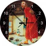 Art-Puzzle-4295 Puzzle-Uhr - Der Schildkrötenerzieher