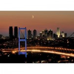 Art-Puzzle-4436 Neon Puzzle - Bosporus-Brücke