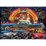 Art-Puzzle-4454 Neon Puzzle - Cruisin Classics