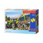 Puzzle  Castorland-010059 Timber Crane