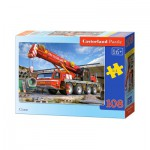 Puzzle  Castorland-010066 Kranwagen