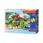 Puzzle  Castorland-010165 Reiterferien