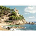 Puzzle  Castorland-100774 Lloret de Mar, Spanische Küste