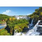 Puzzle  Castorland-101917 Die Iguazú-Wasserfälle, Argentinien