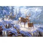 Puzzle  Castorland-102501 Im Wald