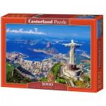 Puzzle  Castorland-102846 Brasilien: Rio de Janeiro
