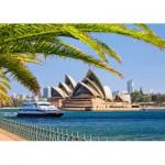Puzzle  Castorland-103003 Australien: Sydney Opera