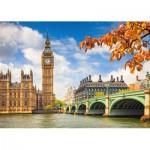 Puzzle  Castorland-103096 Das Herz von London