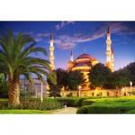 Puzzle  Castorland-103386 Blaue Moschee, Türkei