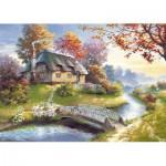 Puzzle  Castorland-150359 Cottage