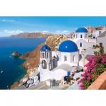 Puzzle  Castorland-150663 Santorin, Griechenland