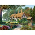 Puzzle  Castorland-150915 Dominic Davison: Idyllisches Cottage