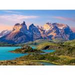 Puzzle  Castorland-150953 Torres del Paine, Patagonien, Chile