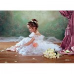 Puzzle  Castorland-51571 Schöne Ballerina
