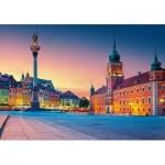 Puzzle  Castorland-52486 Warschau
