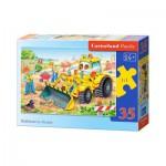 Puzzle  Castorland-B-035168 Bulldozer