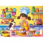 Puzzle  Castorland-B-06885 Little Cook