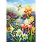 Puzzle   Golden Irises