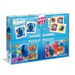 2 Puzzles Dory + Memo + Domino