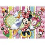 Puzzle  Clementoni-20401 Minnie Maus wird die Schönste sein