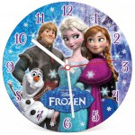 Clementoni-23021 Puzzleuhr - Frozen - Die Eiskönigin