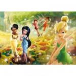 Puzzle  Clementoni-23578 Disney Fairies: Sonnenblumen