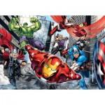 Puzzle  Clementoni-24036 XXL Teile - Avengers