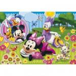 Puzzle  Clementoni-26738 XXL-Teile - Minnie und Daisy: Mädchenträume