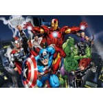 Clementoni-26749 XXL Puzzle - Avengers