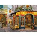 Puzzle  Clementoni-30104 Victor Shvaiko: Restaurant L'Antico Sigillo