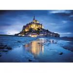 Puzzle  Clementoni-31994 Mont Saint Michel , Frankreich