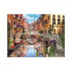 Puzzle  Clementoni-33541 Dominic Davison: Venedig