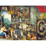 Puzzle  Clementoni-33542 Brueghel Pieter: Allegorie der Sinne