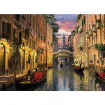 Puzzle  Clementoni-36517 Dominic Davison: Venedig