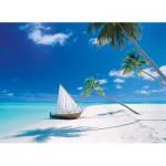 Puzzle  Clementoni-39256 Malediven