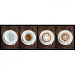 Puzzle  Clementoni-39275 Kaffee