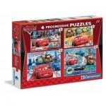 4 Progressive Puzzles - Cars