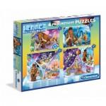 4 Progressive Puzzles - Ice Age