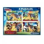 4 Puzzles - The Lion Guard