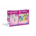 Puzzle   Disney Princess + Memo
