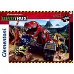 Puzzle   XXL Teile - Dino Trux