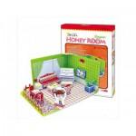 Cubic-Fun-C051-01H 3D Puzzle - Honey Room: Wohnzimmer (Schwierigkeit: 3/8)