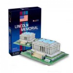 Cubic-Fun-C104H Puzzle 3D - Lincoln Memorial