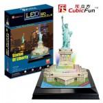 Cubic-Fun-L505H Puzzle 3D mit LED - Freiheitsstatue