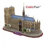 Cubic-Fun-MC054H-2 3D Puzzle - Kathedrale Notre-Dame de Paris, Frankreich - Schwierigkeitsgrad 5/6