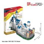 Cubic-Fun-MC062H-2 Puzzle 3D - Schloss Neuschwanstein, Bayern, Deutschland