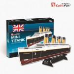 Cubic-Fun-S3017H Puzzle 3D Mini - Titanic