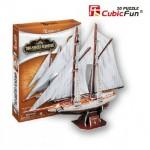 Cubic-Fun-T4007H Puzzle 3D - 2 Master